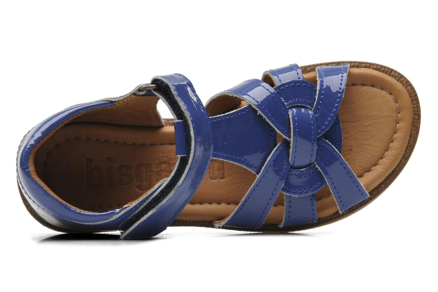 Sandals Bisgaard Inge Blue view from the left