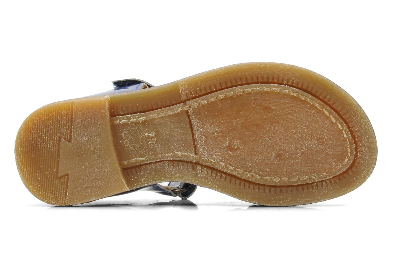 Sandales et nu-pieds Bisgaard Inge Bleu vue haut