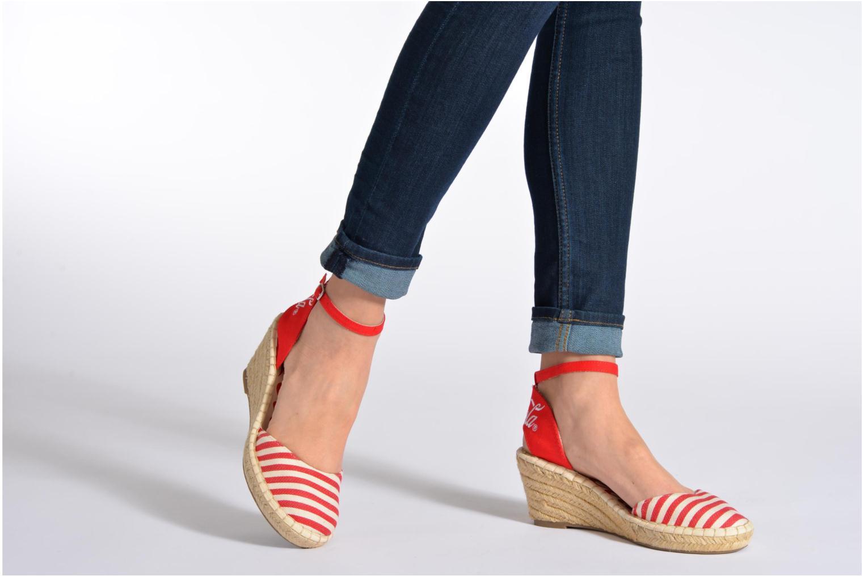 Sandali e scarpe aperte Coca-cola shoes Juta City Nero immagine dal basso
