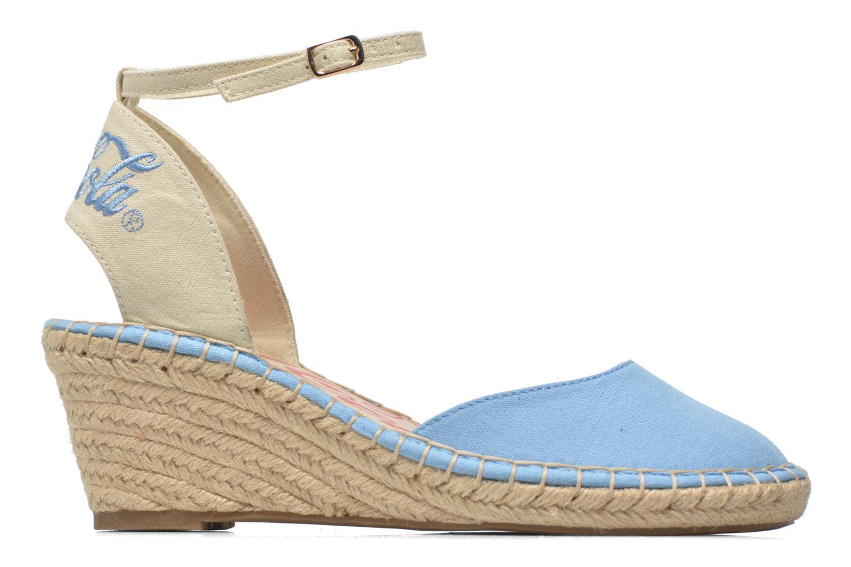 Sandali e scarpe aperte Coca-cola shoes Juta City Azzurro immagine posteriore