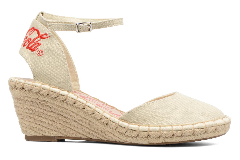 Sandali e scarpe aperte Coca-cola shoes Juta City Beige immagine posteriore