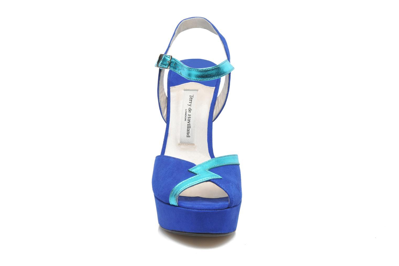 Sandals Terry de Havilland Izzy Blue model view