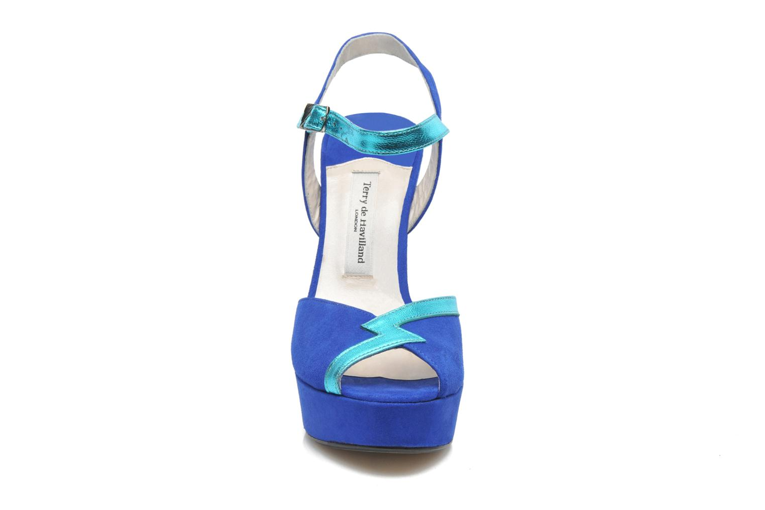 Sandalen Terry de Havilland Izzy Blauw model