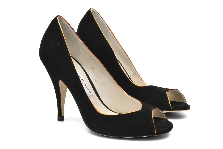 High heels Terry de Havilland Chloe Black 3/4 view