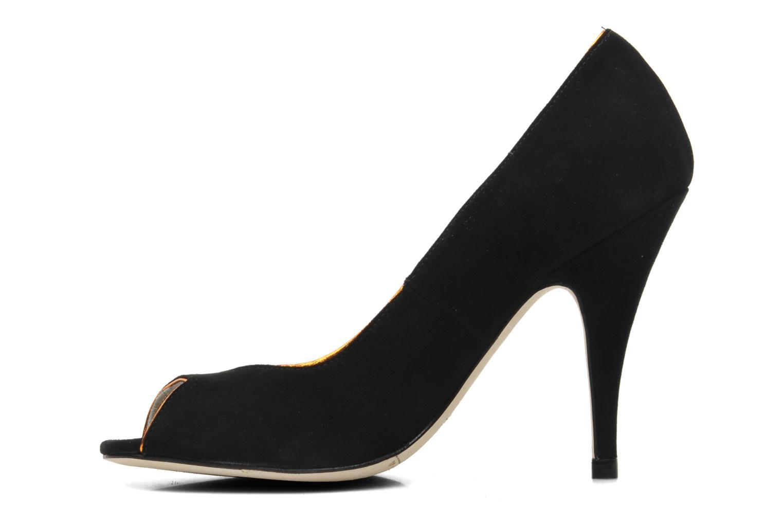 Zapatos de tacón Terry de Havilland Chloe Negro vista de frente