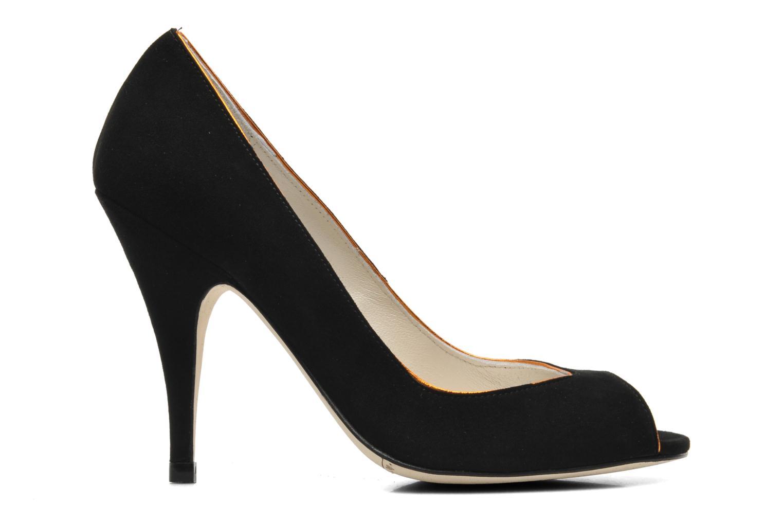 Zapatos de tacón Terry de Havilland Chloe Negro vistra trasera