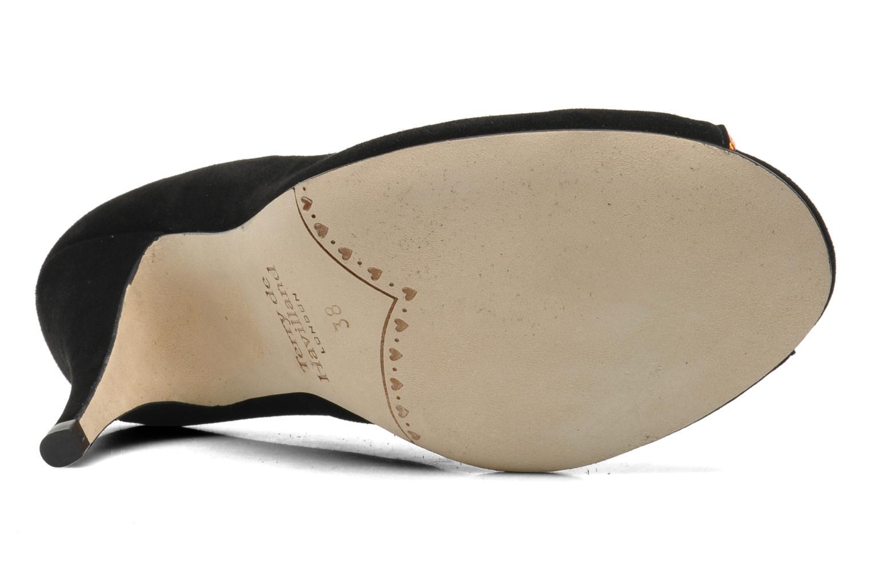 Zapatos de tacón Terry de Havilland Chloe Negro vista de arriba