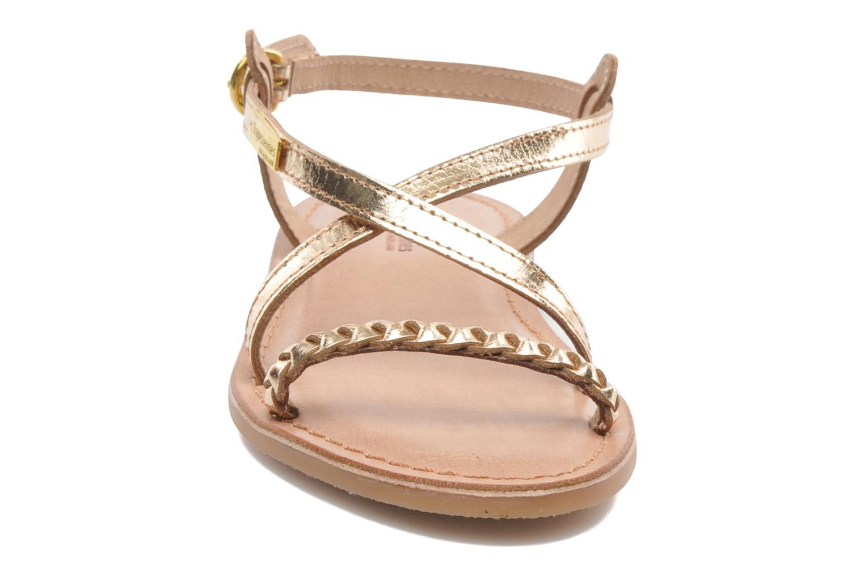 Sandalen Les Tropéziennes par M Belarbi Baladin gold/bronze schuhe getragen