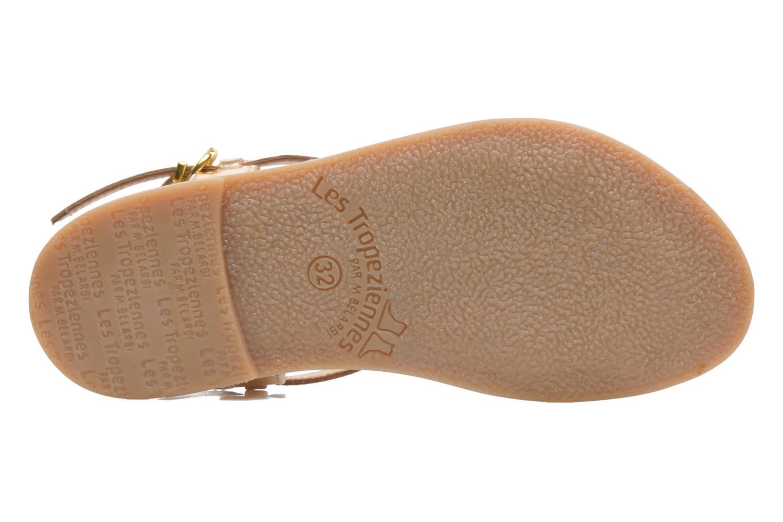 Sandales et nu-pieds Les Tropéziennes par M Belarbi Baladin Or et bronze vue haut