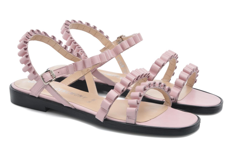 Sandales et nu-pieds Opening Ceremony Mazzy sandal Rose vue 3/4