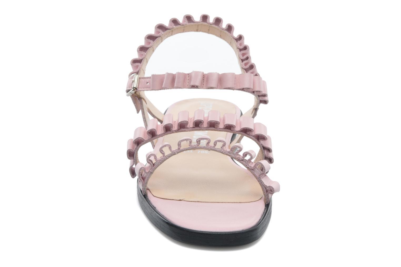 Sandales et nu-pieds Opening Ceremony Mazzy sandal Rose vue portées chaussures