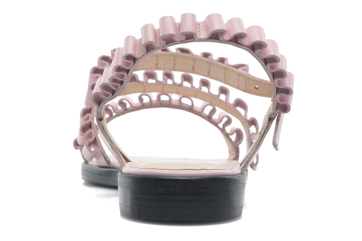 Sandalias Opening Ceremony Mazzy sandal Rosa vista lateral derecha