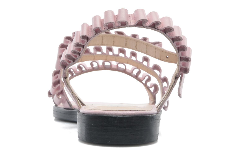 Sandales et nu-pieds Opening Ceremony Mazzy sandal Rose vue droite