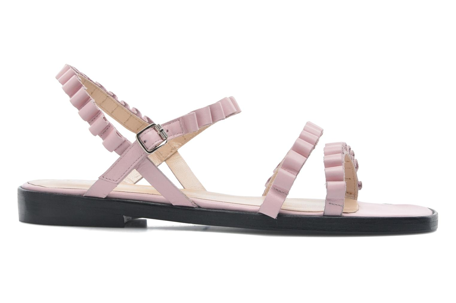 Sandals Opening Ceremony Mazzy sandal Pink back view