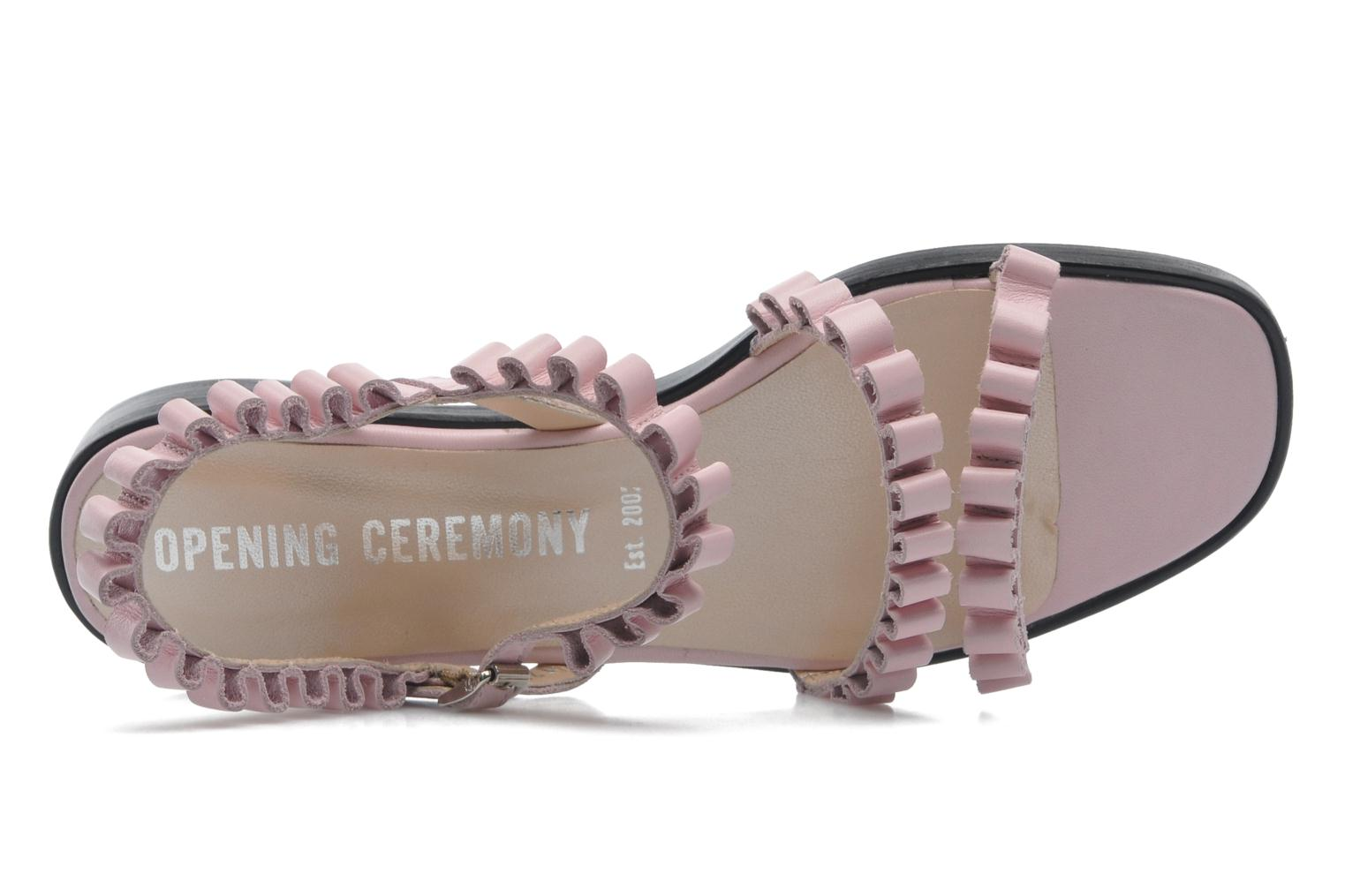 Sandals Opening Ceremony Mazzy sandal Pink view from the left
