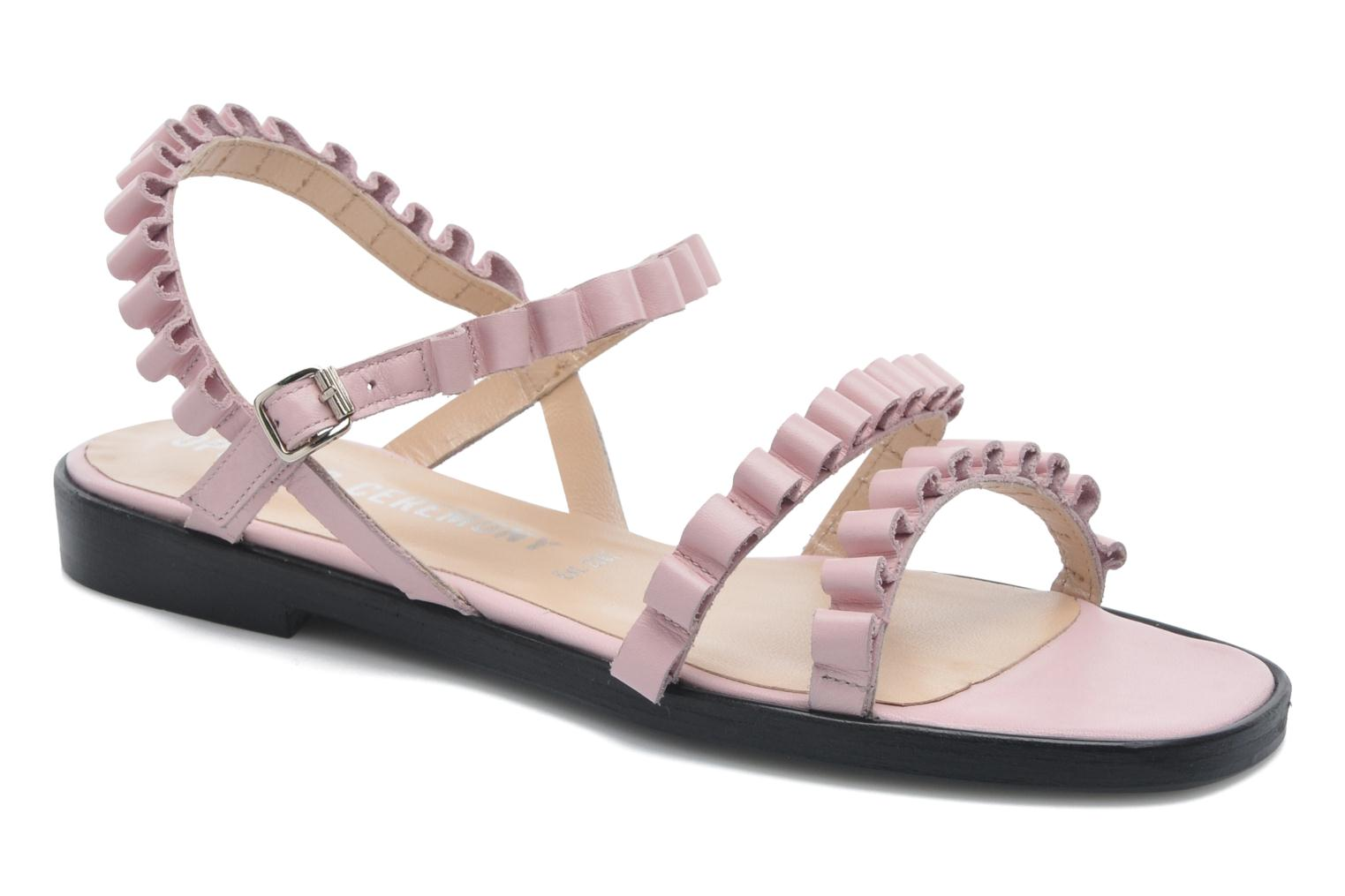 Sandals Opening Ceremony Mazzy sandal Pink detailed view/ Pair view