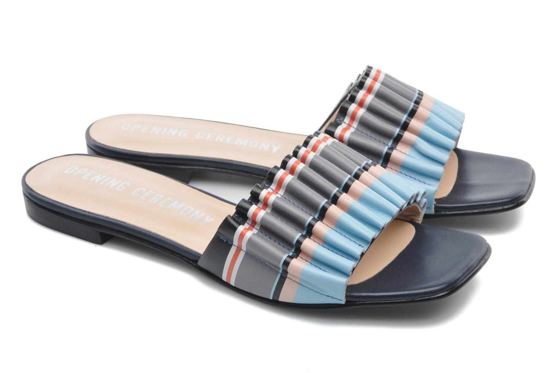 Sandales et nu-pieds Opening Ceremony Mazzy slide Multicolore vue 3/4