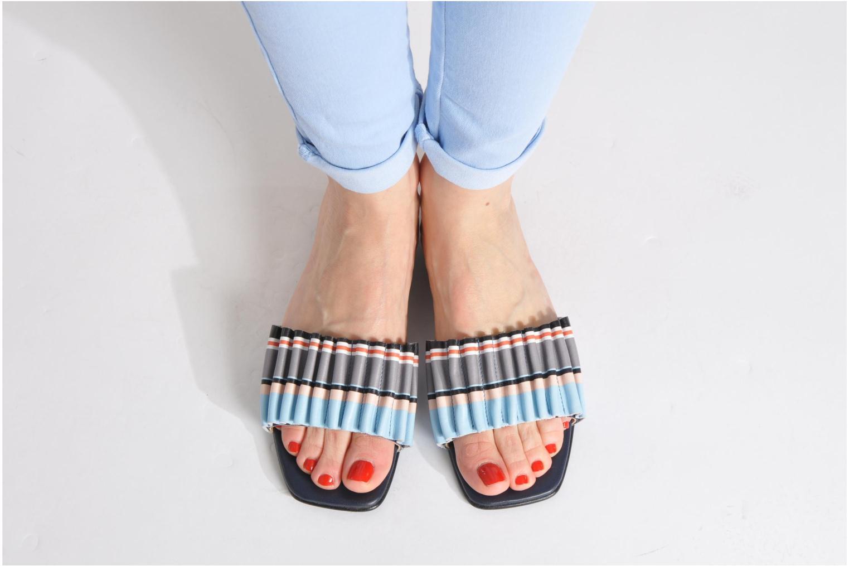 Sandales et nu-pieds Opening Ceremony Mazzy slide Multicolore vue bas / vue portée sac