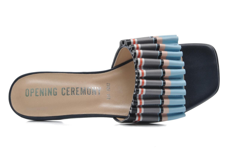 Sandales et nu-pieds Opening Ceremony Mazzy slide Multicolore vue gauche