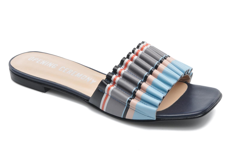 Sandales et nu-pieds Opening Ceremony Mazzy slide Multicolore vue détail/paire