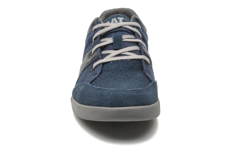 Baskets Caterpillar Intraval Bleu vue portées chaussures