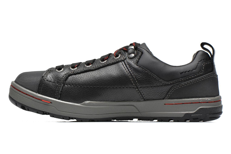 Sneaker Caterpillar Brode S1P schwarz ansicht von vorne