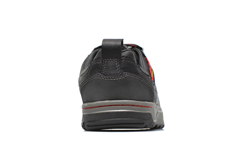 Sneaker Caterpillar Brode S1P schwarz ansicht von rechts