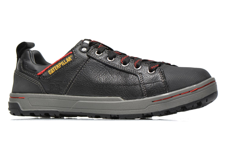 Sneaker Caterpillar Brode S1P schwarz ansicht von hinten