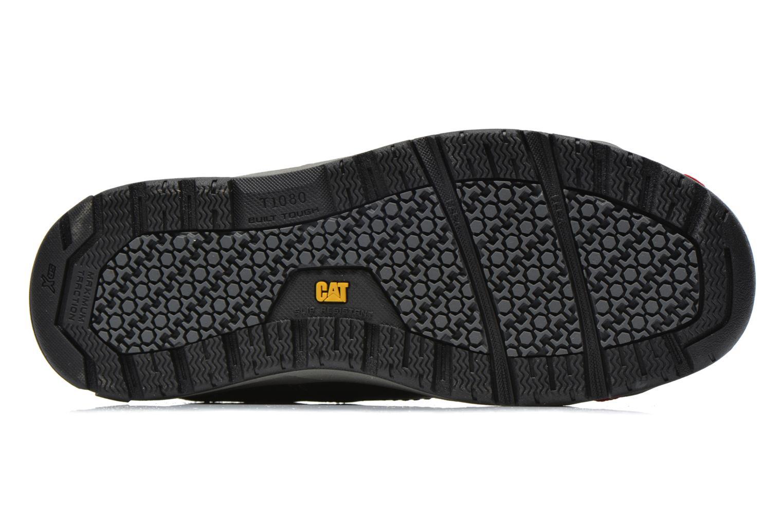 Sneaker Caterpillar Brode S1P schwarz ansicht von oben