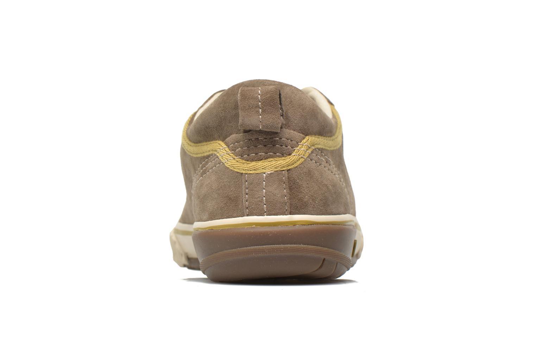 Sneaker Caterpillar Prestige grau ansicht von rechts