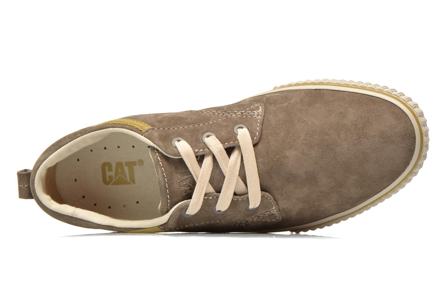 Trainers Caterpillar Prestige Grey view from the left
