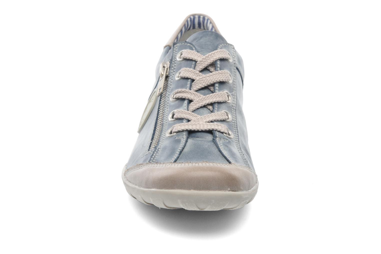 Baskets Remonte Quinn R3408 Bleu vue portées chaussures