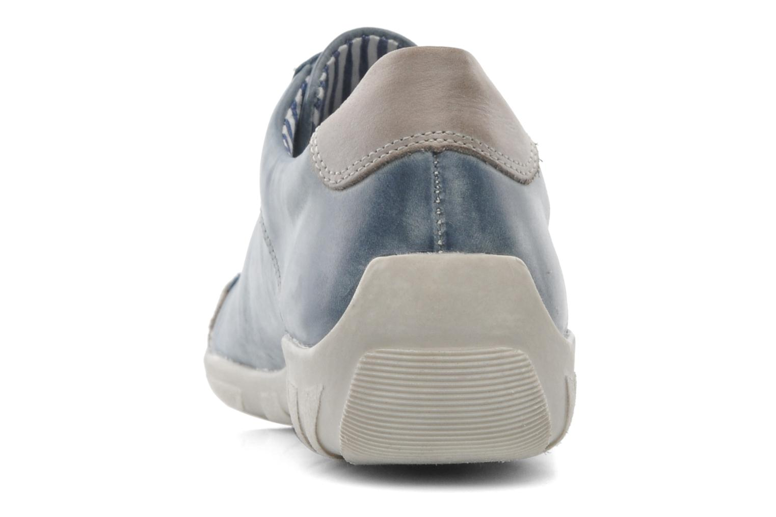 Trainers Remonte Quinn R3408 Blue view from the right