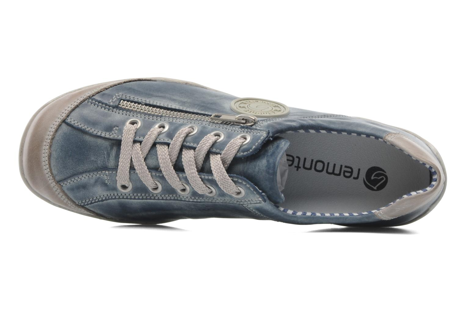 Trainers Remonte Quinn R3408 Blue view from the left