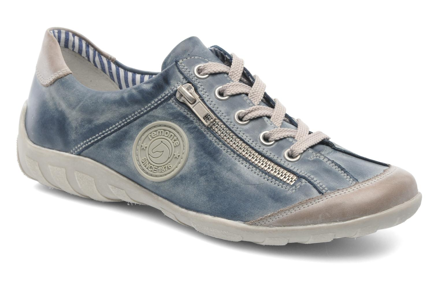 Trainers Remonte Quinn R3408 Blue detailed view/ Pair view