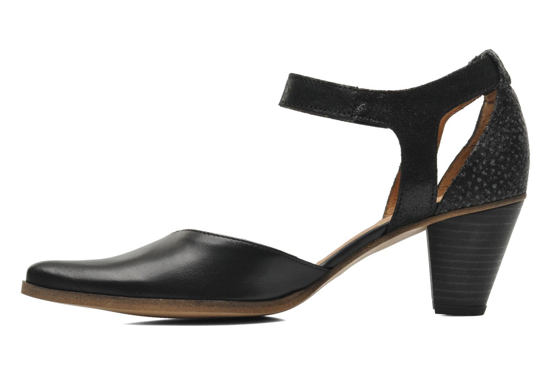 High heels Karston Kzapo Black front view