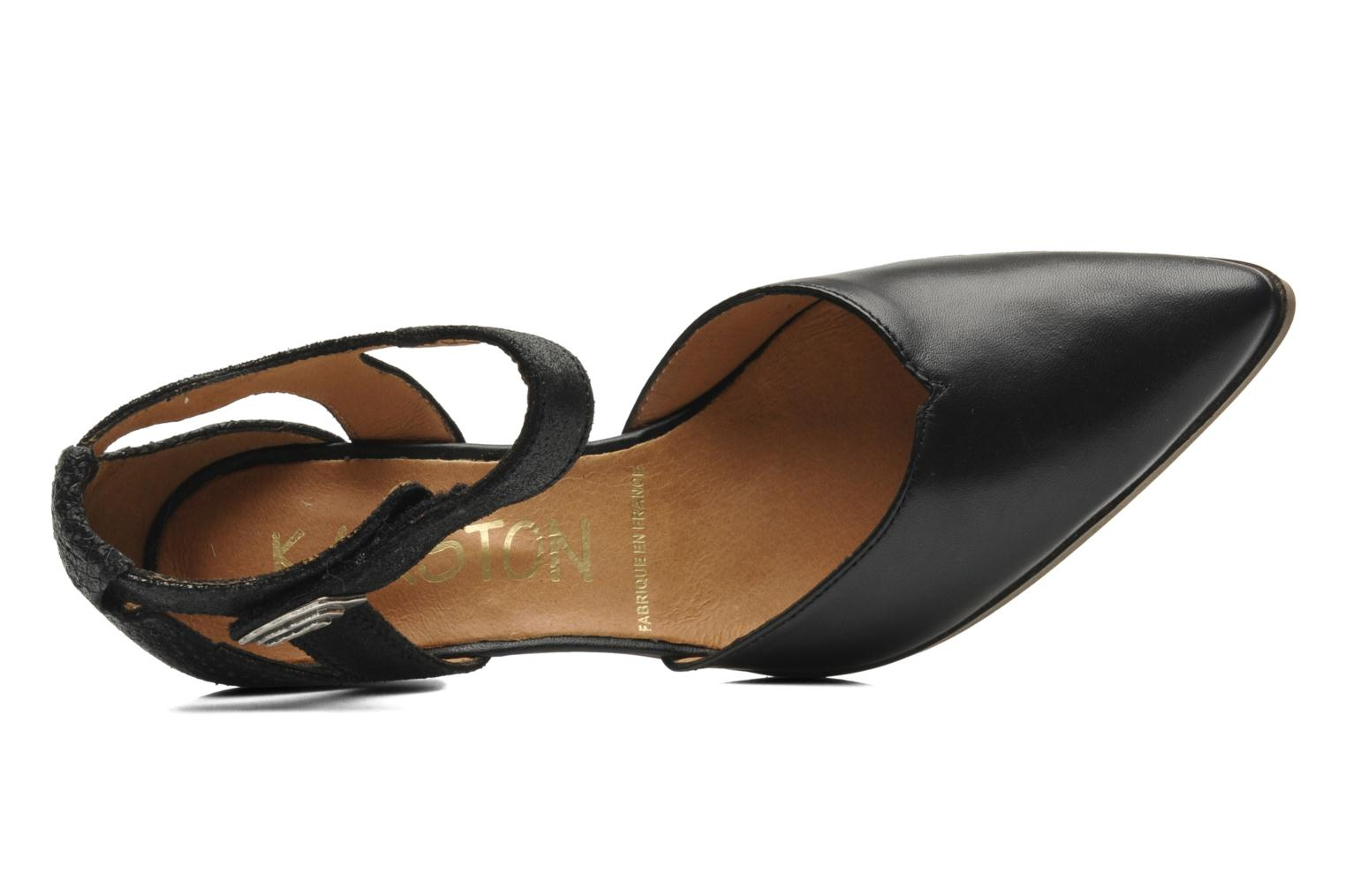 High heels Karston Kzapo Black view from the left