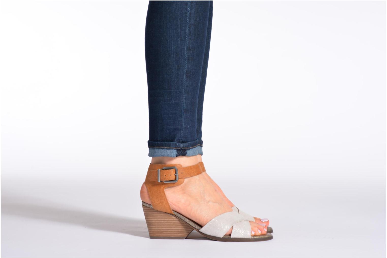 Sandalen Karston Tobic mehrfarbig ansicht von unten / tasche getragen