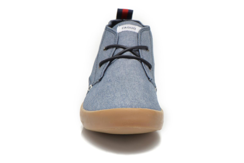 Sneaker Faguo Oleaster M blau schuhe getragen