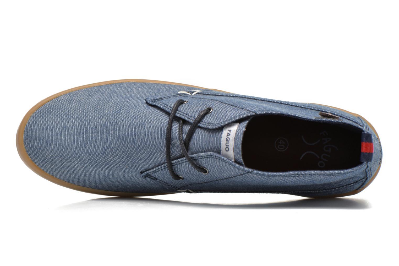 Sneaker Faguo Oleaster M blau ansicht von links