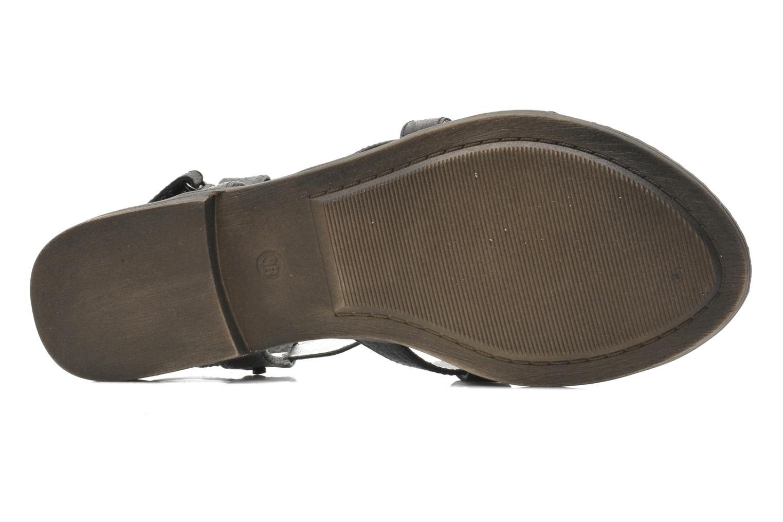 Sandales et nu-pieds Madison Runan Noir vue haut