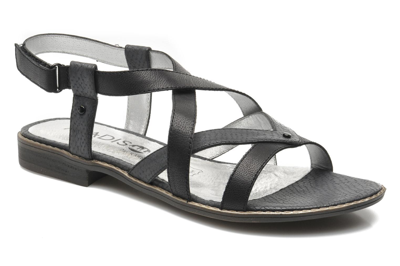 Sandales et nu-pieds Madison Runan Noir vue détail/paire