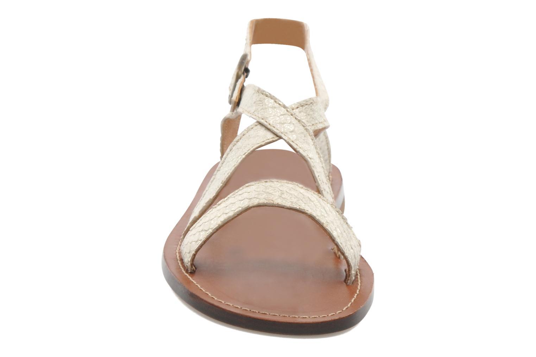 Sandales et nu-pieds PèPè Agati Beige vue portées chaussures
