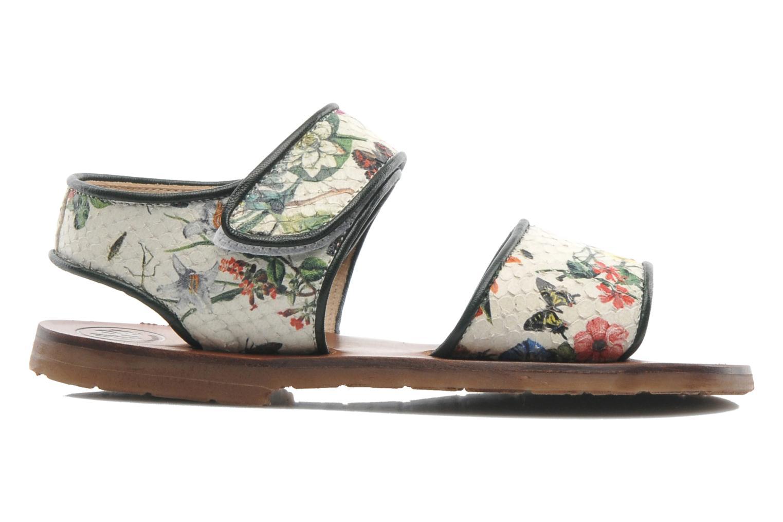 Sandales et nu-pieds PèPè Aiassa Multicolore vue derrière
