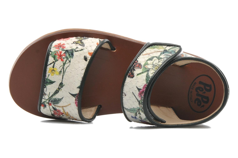 Sandales et nu-pieds PèPè Aiassa Multicolore vue gauche