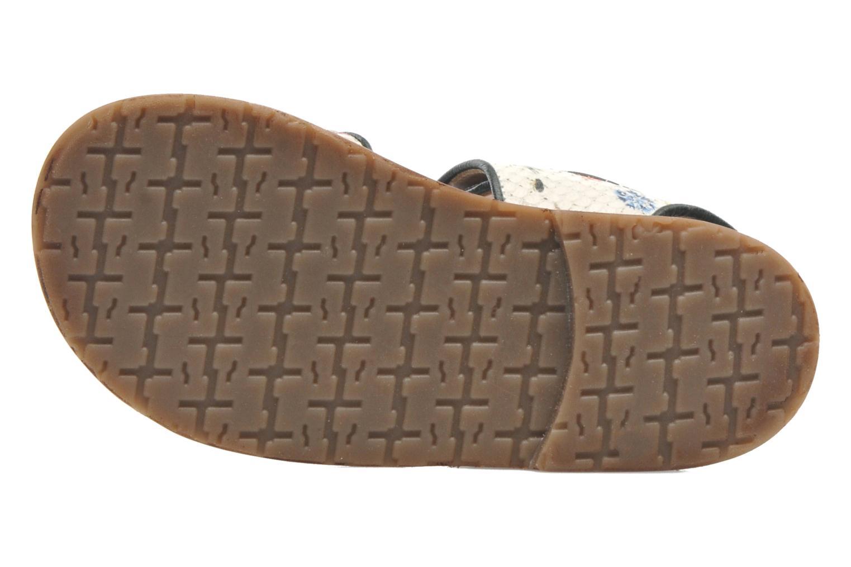 Sandales et nu-pieds PèPè Aiassa Multicolore vue haut