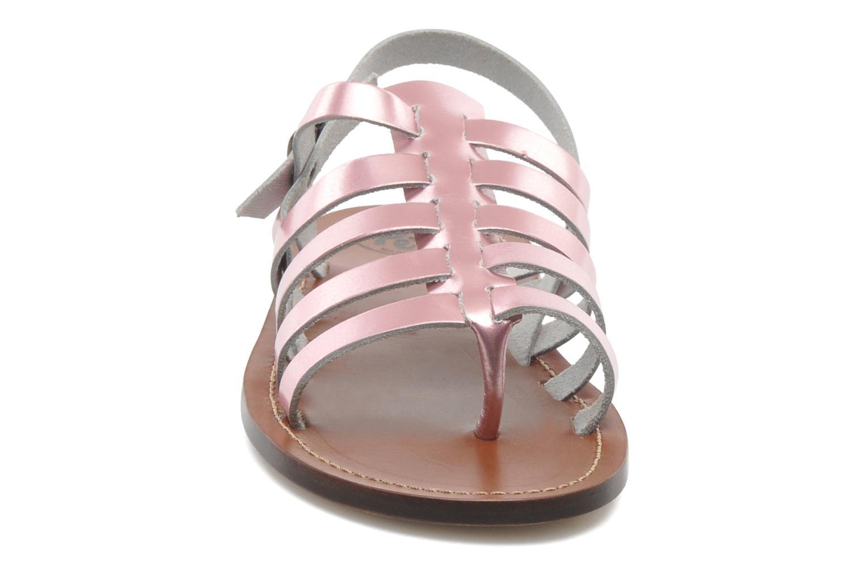 Sandalen PèPè Alteri rosa schuhe getragen