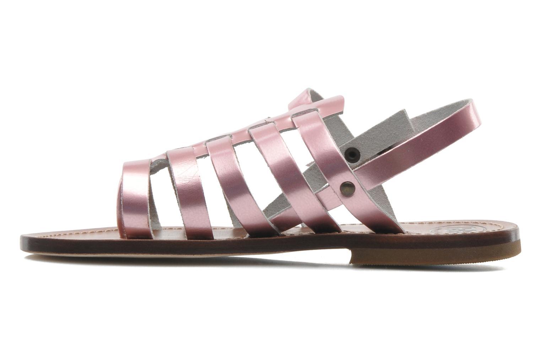 Sandalen PèPè Alteri rosa ansicht von vorne