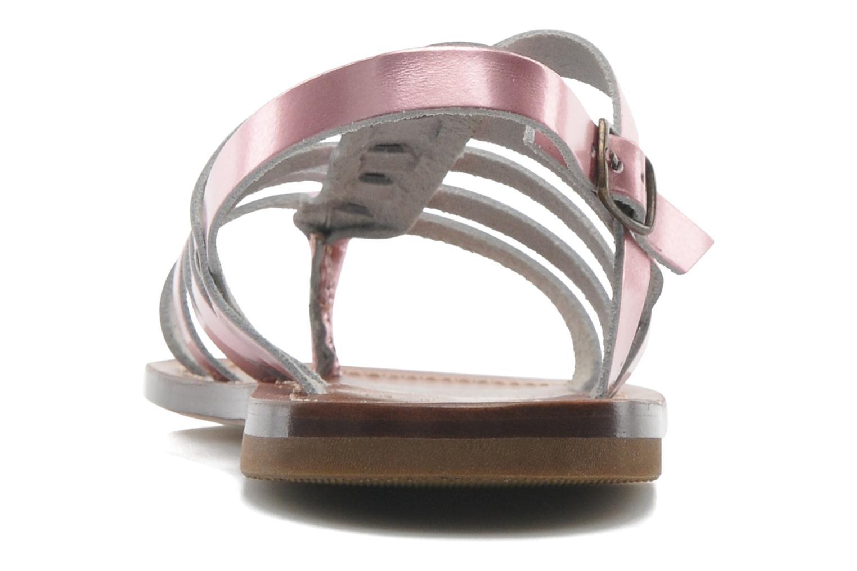 Sandalen PèPè Alteri Roze rechts