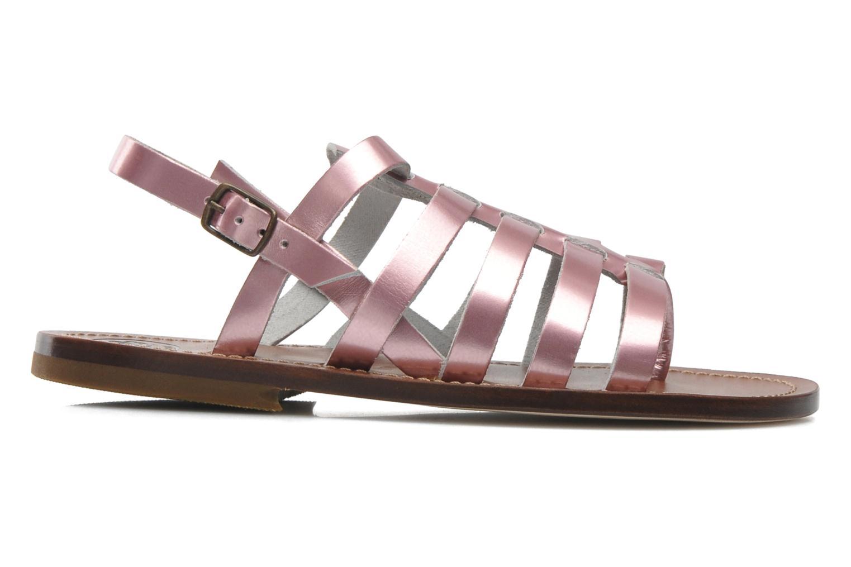 Sandales et nu-pieds PèPè Alteri Rose vue derrière